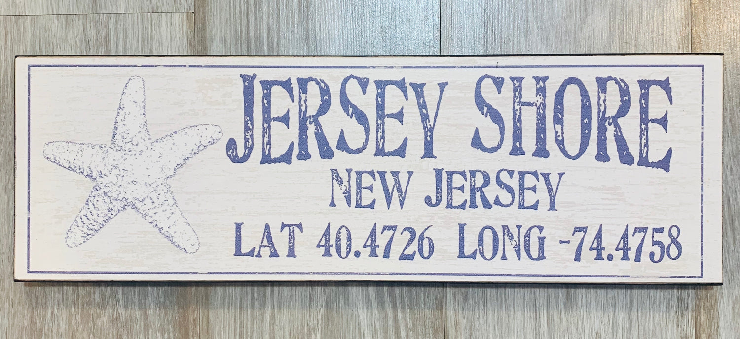 PTT Jersey Shore Sign