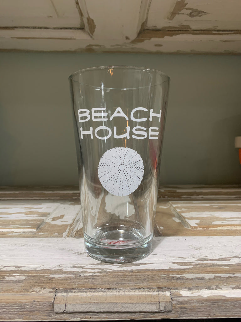 Beach House Pint Glass