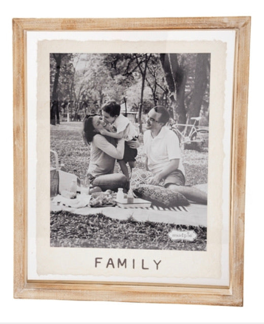 MudPie Family 8x10 photo frame