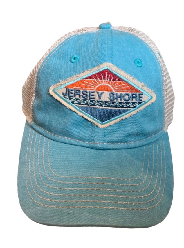 Jersey Shore bursting sun hat (4 colors)