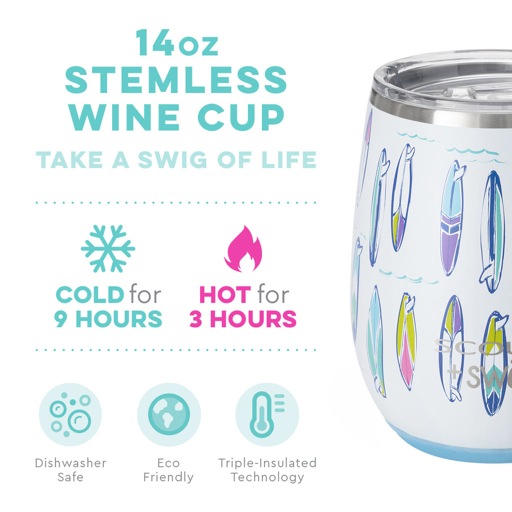 Swig/scout 14oz stemless wine cup