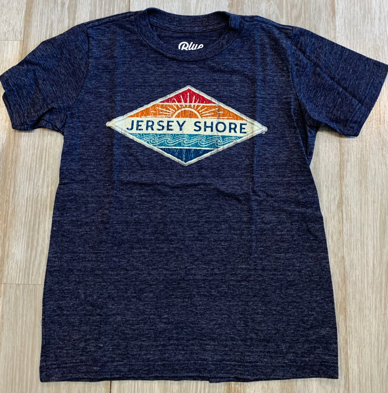 Jersey Shore oil burner sun kids tee (2 colors)