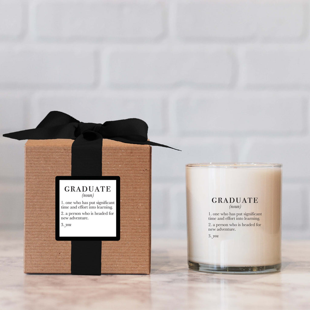 Ella B. Definition Graduate candle
