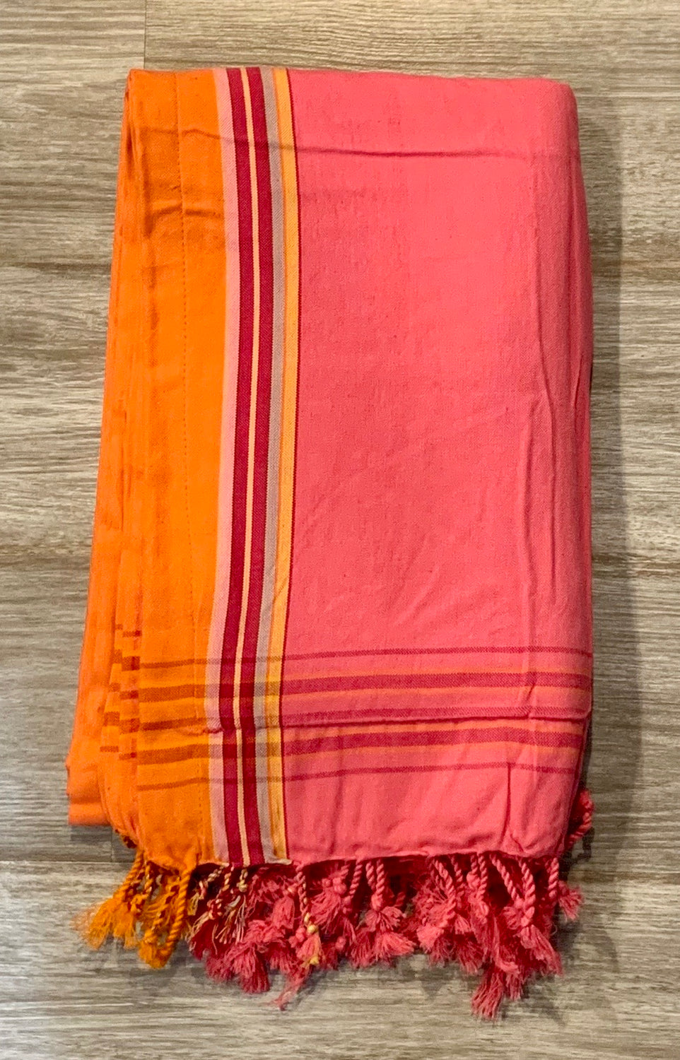 Turkish beach towel with terry cloth lining (3 colors)
