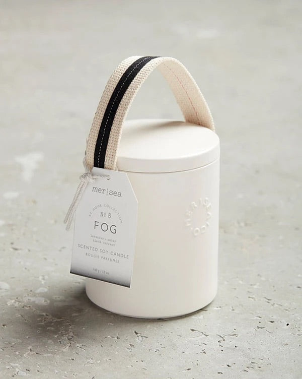 Fog Stitched Handle Candle
