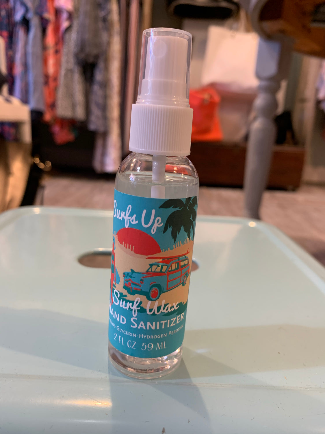 Surf's up hand sanitizer spray (2 scents)