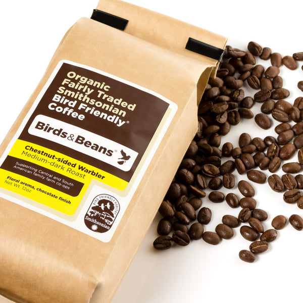 Coffee CS Warbler Med Dark Roast Ground
