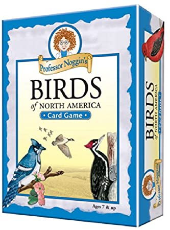 Professor Noggin's Birds of North America Card Game