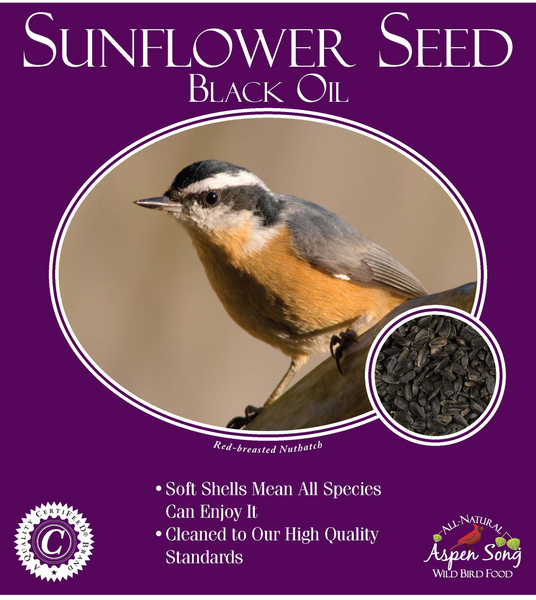 Aspen Song Black Oil Sunflower Seed - 20 lbs.