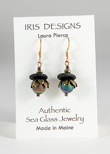 Earrings - Authentic Sea Glass