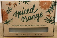 Smudge Ink Handmade Shea Butter Soap-Spiced Orange