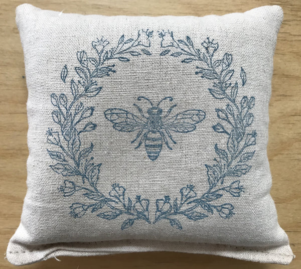 Perry Home Naturals Sachet - Blue Honey Bee - Lavender Scent