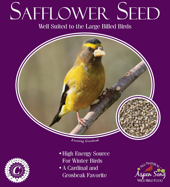 Aspen Song Safflower Seed - 5 lbs.