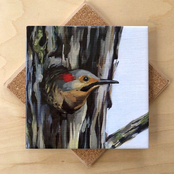 Trivet by Art by Alyssa-Northern Flicker