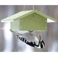 Recycled Material Upside Down Suet Feeder