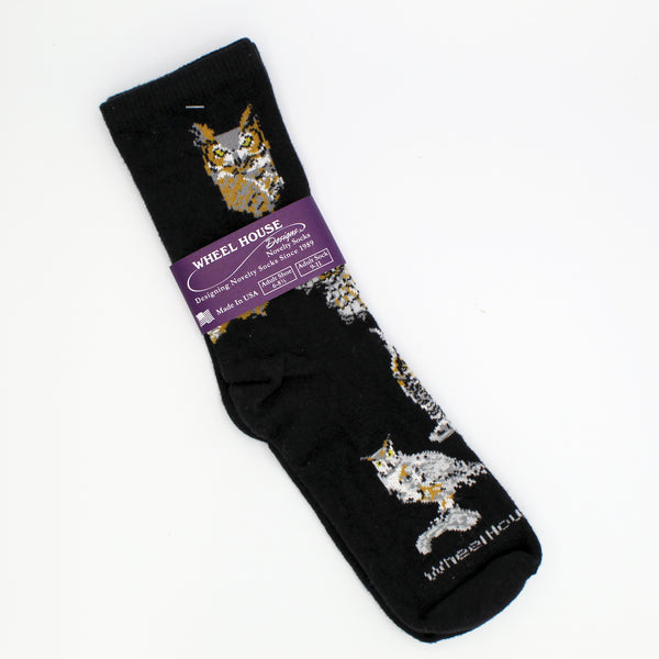 Wheelhouse Socks - Owls - Small