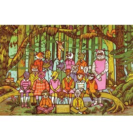 Woodland Animals 500 Piece Puzzle