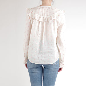 Celine Blouse - Cream