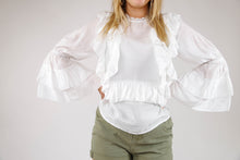 Alice Ruffle Frill Top