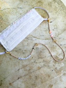 Personalised Face Mask Chain Strap