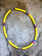 Yellow Multicoloured Necklace