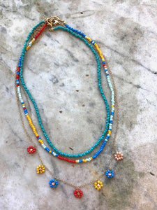 Three Beaded Necklace