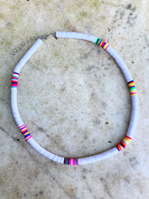 White Multicoloured Necklace