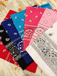 bandana face mask - Australian made - cotton fabric - reusable - 3 layers