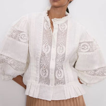 Arabella Lurex Blouse