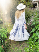 * PRE ORDER * Tie Dye, Lace And Embroidered Maxi Dress