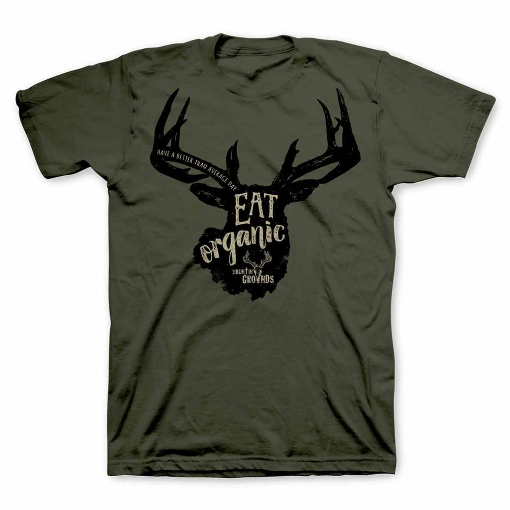 THG - Eat Organic - Adult T-Shirt