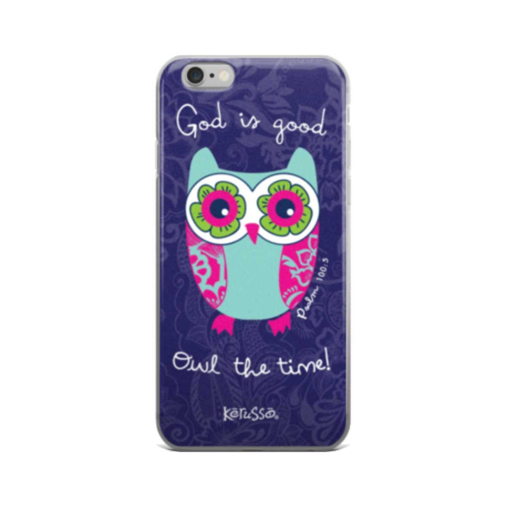 Owl The Time iPhone Case