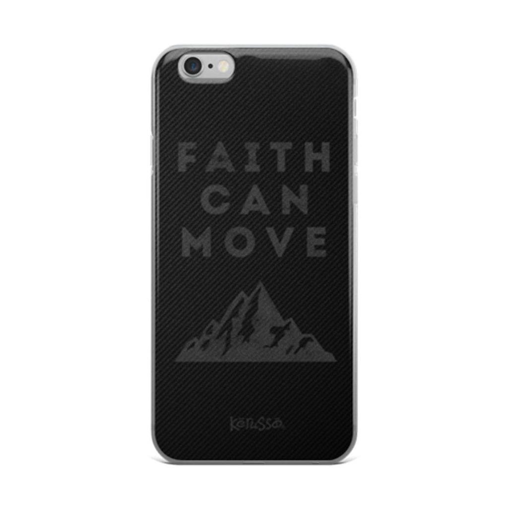 Faith Can Move iPhone Case