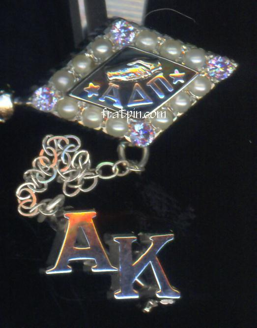 Alpha Delta Pi - White Gold