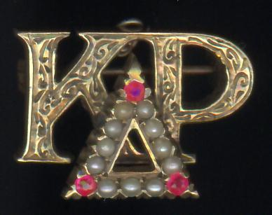 Kappa Delta Rho - Chased Etching