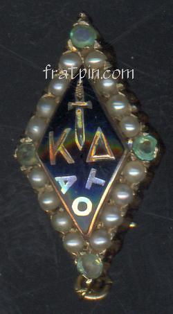Kappa Delta - Emeralds & Pearls