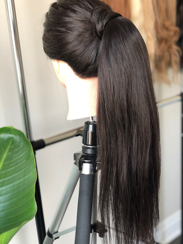 Natural Black Ponytail Extension