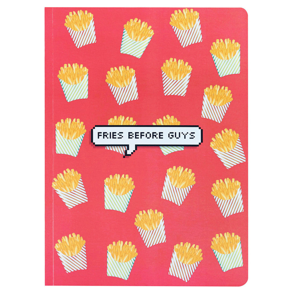 Notebook - Fries Before Guys