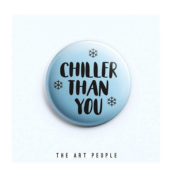 Chiller Badge