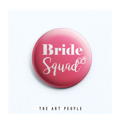 Bride Squad Badge