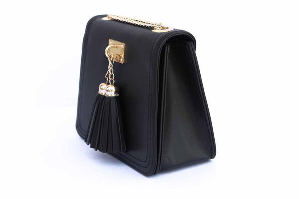 The Tassel Sling: Black