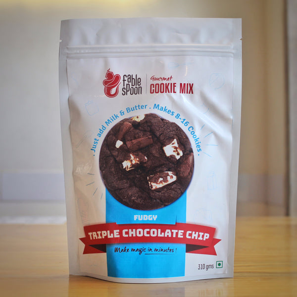 Cookie Mix - Fudgy Triple Chocolate Chip