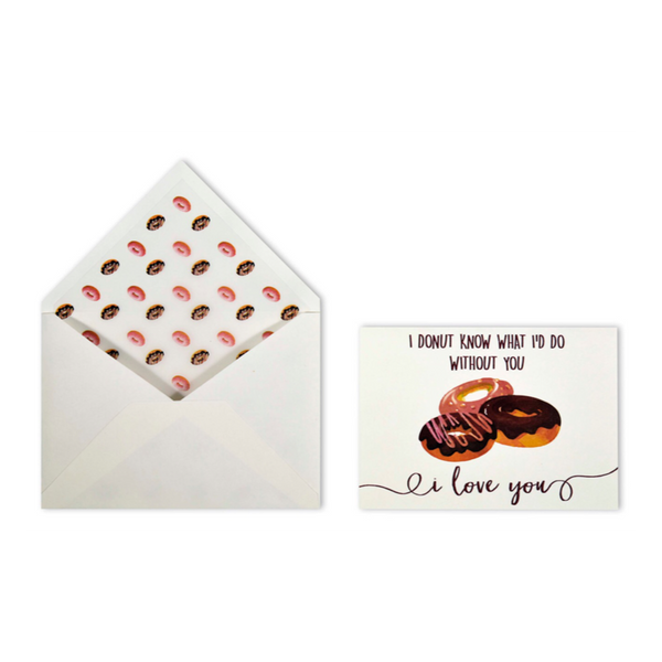 Donut Love Card