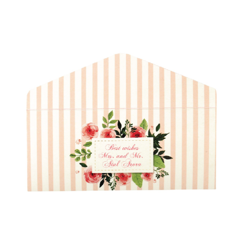Floral Money Envelopes