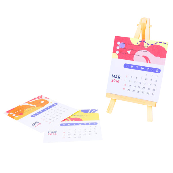 Desk Calendar - 2018 Good Deeds Easel