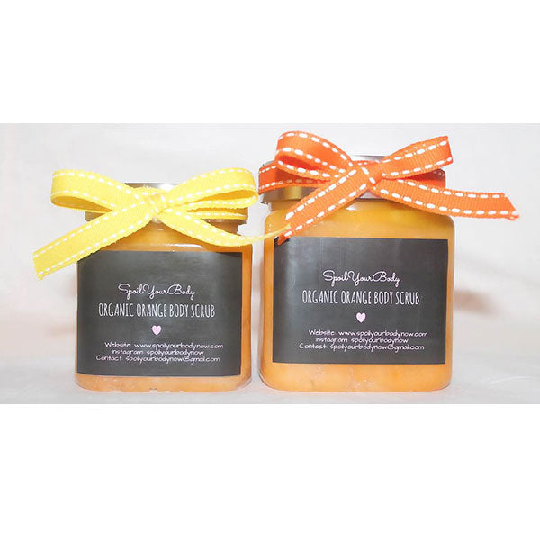 Organic Orange Body Scrub