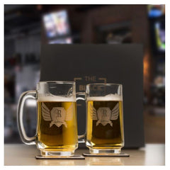 2 Personalized Beer Mugs