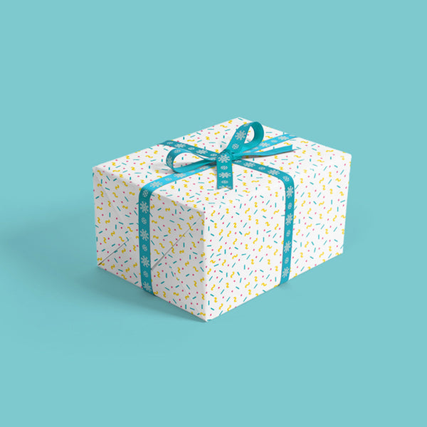 Gift Wrapping Paper (2 Sheets)