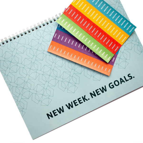 Planner - Weekly Planner with Essential Stickers