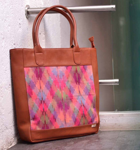 Tote - Colorblock Pastels